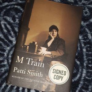 Patti Smith - M Train (signed edition)